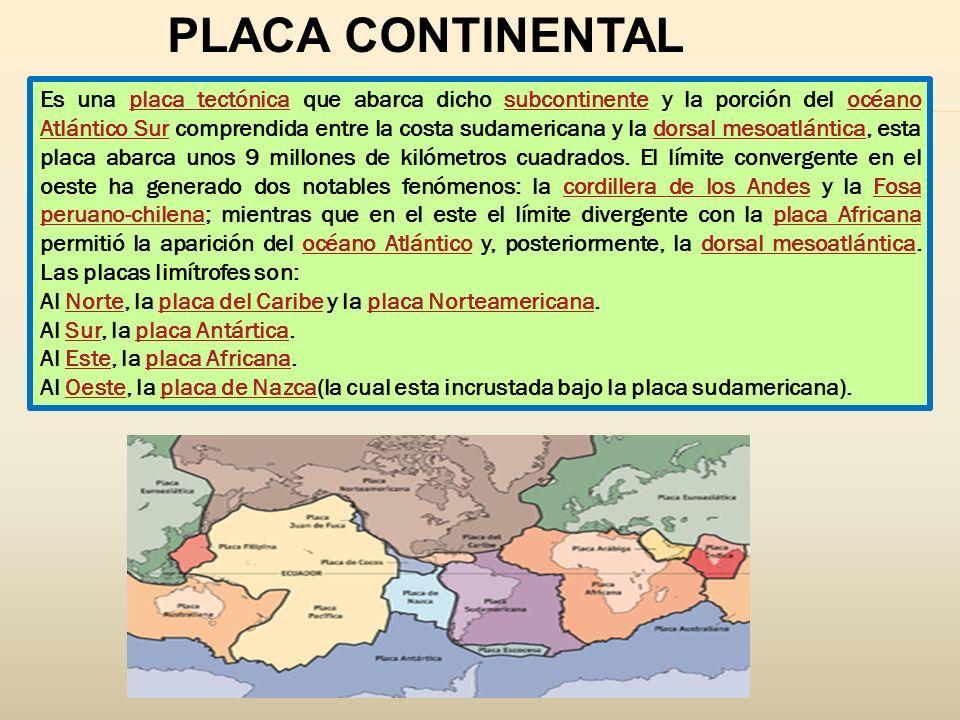 Placa de Nazca Mapa de las placas tectónicas.La de Nazca se ve casi al centro, de color celeste.