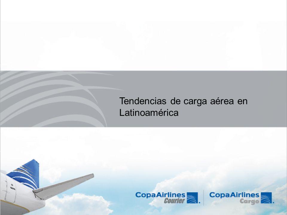 Tendencias de carga aérea en Latinoamérica