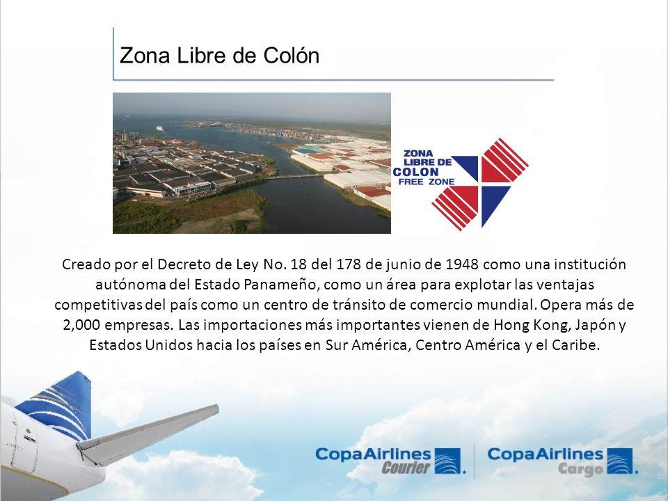 Creado por el Decreto de Ley No. 18 del 178 de junio de 1948 como una institución autónoma del Estado Panameño, como un área para explotar las ventaja