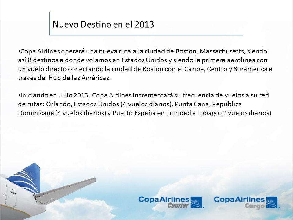 Copa Airlines operará una nueva ruta a la ciudad de Boston, Massachusetts, siendo así 8 destinos a donde volamos en Estados Unidos y siendo la primera