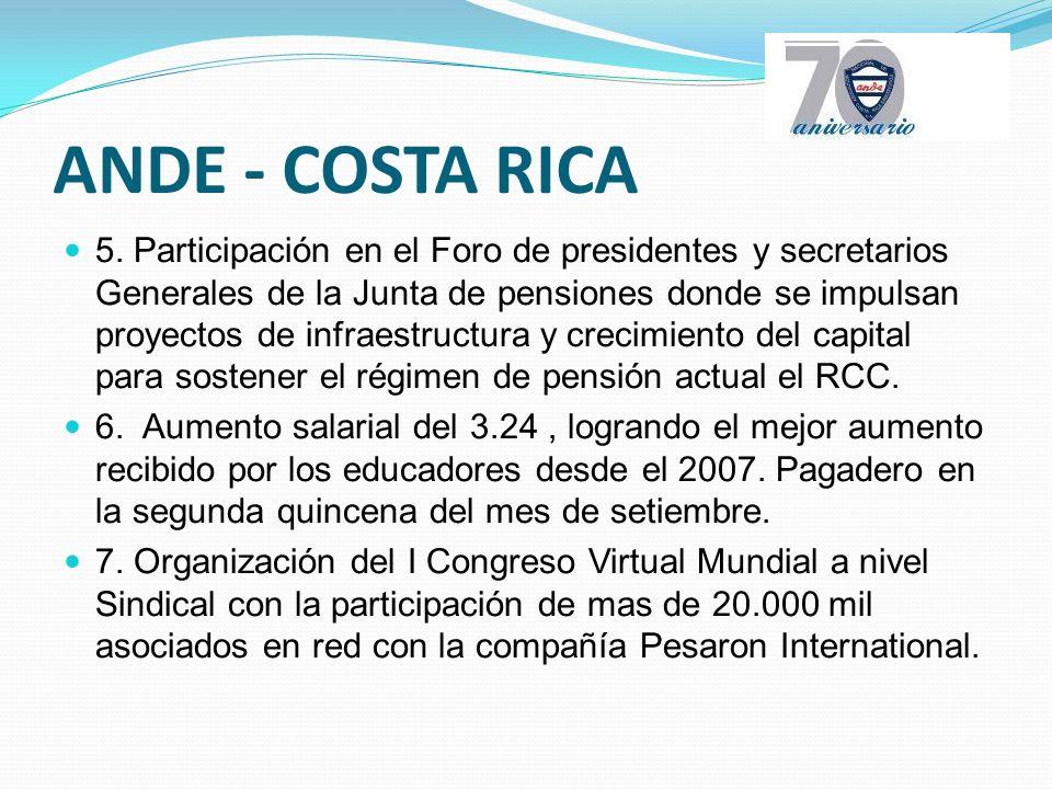 ANDE - COSTA RICA 5.