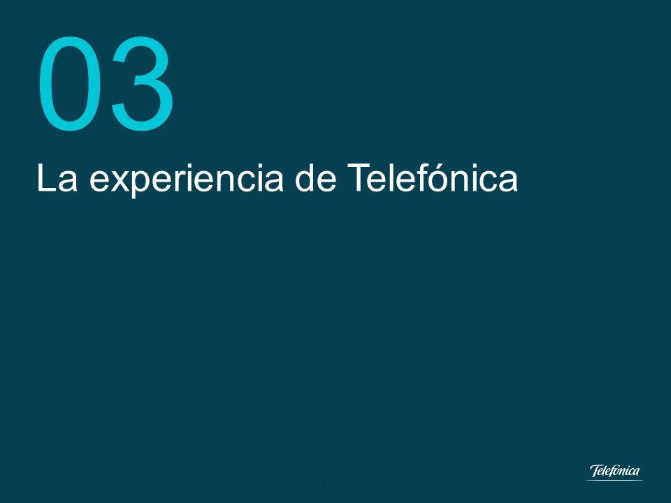 11 Dirección e-Health Telefónica España 02...tenemos que trabajar el CÓMO