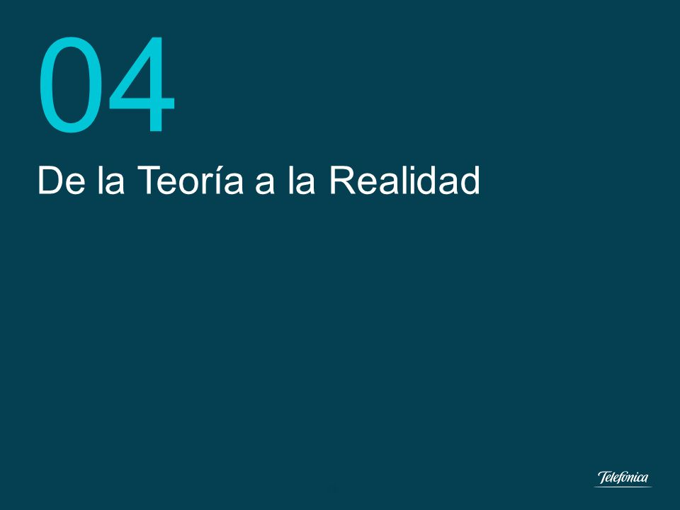 17 Dirección e-Health Telefónica España... haciendo posible la monitorización del paciente en el Hogar 03 17