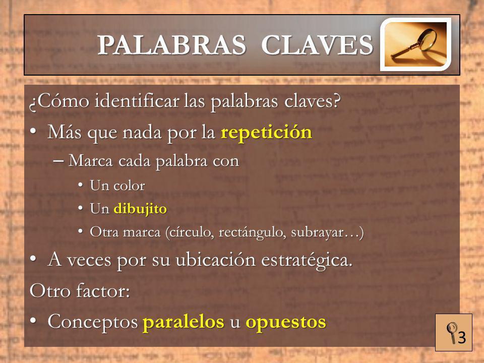 PALABRAS CLAVES HERMENÉUTICA APLICADA