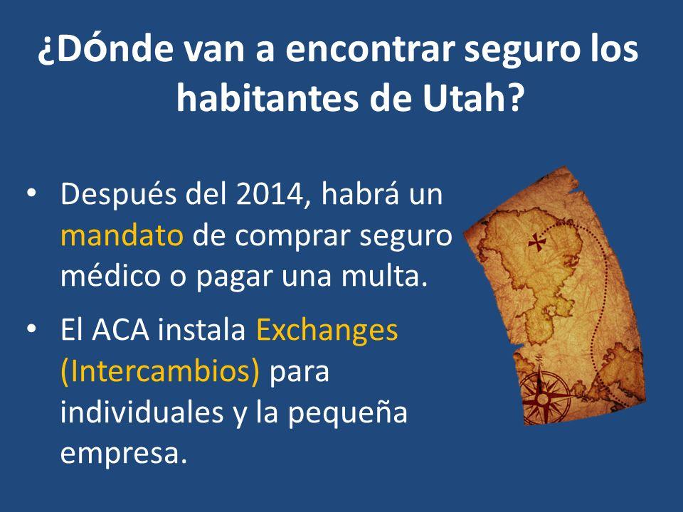 ¿D ó nde van a encontrar seguro los habitantes de Utah.
