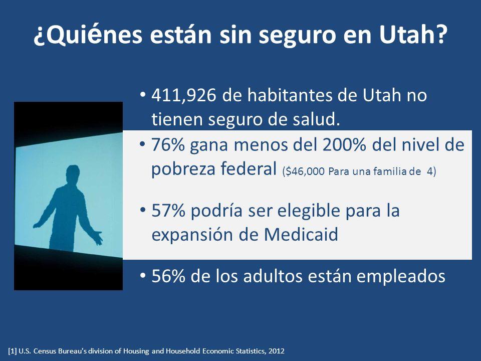 ¿Qui é nes están sin seguro en Utah. [1] U.S.
