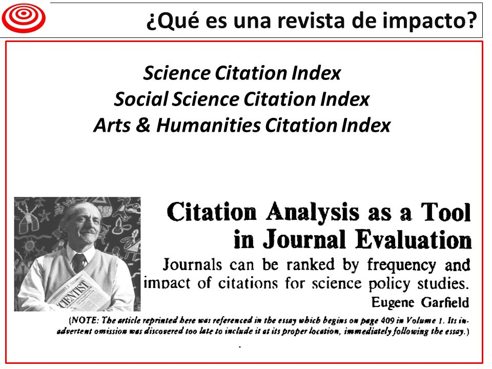 Science Citation Index Social Science Citation Index Arts & Humanities Citation Index