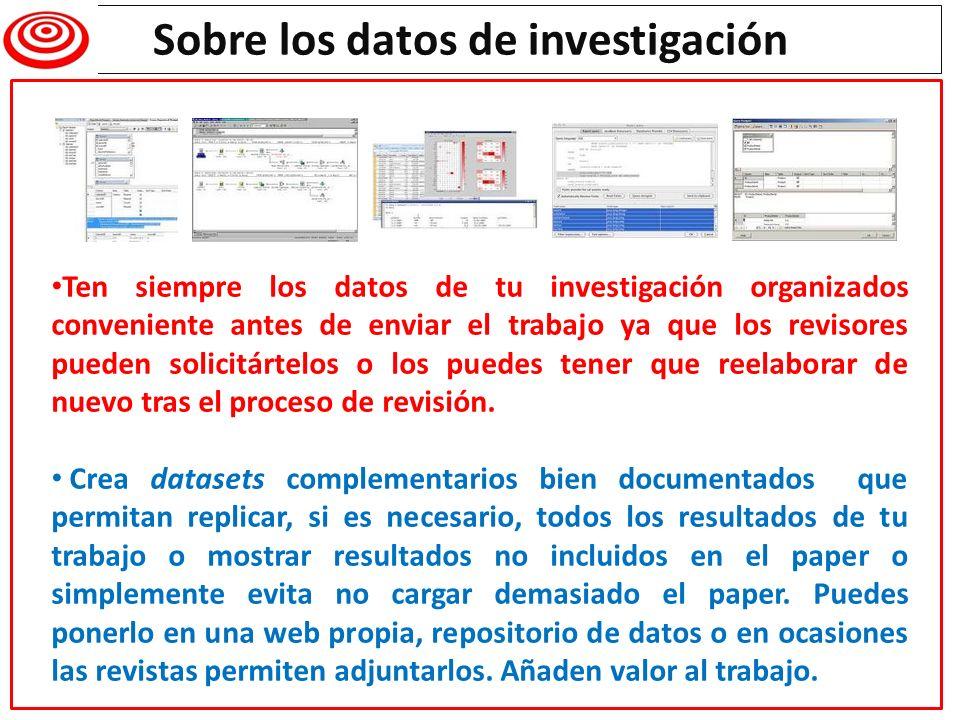 Writing a research paper Sobre los datos de investigación Ten siempre los datos de tu investigación organizados conveniente antes de enviar el trabajo