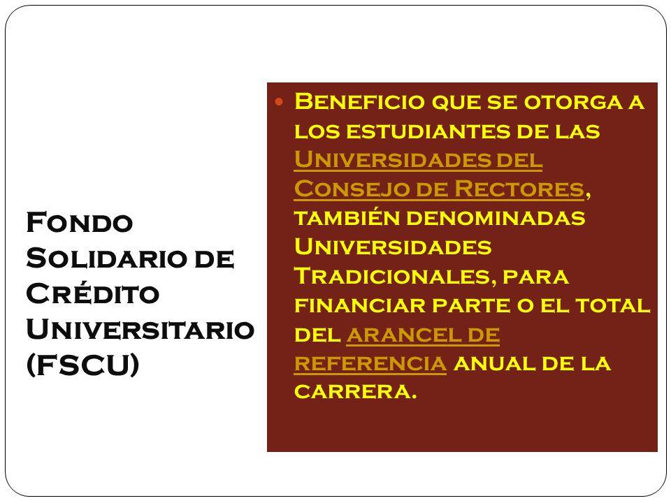 características Es un crédito otorgado en UTM con tasa de interés anual del 2%.