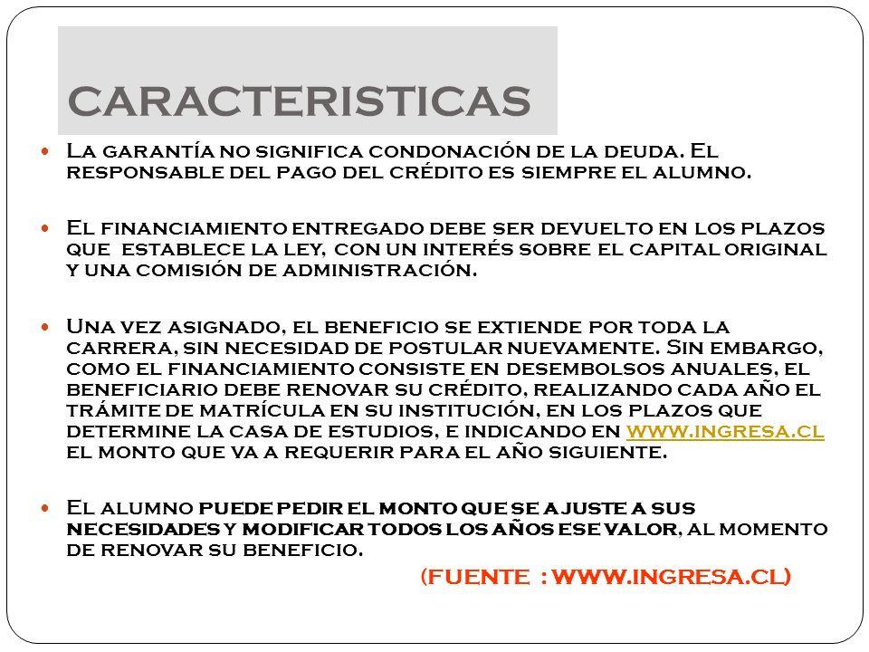 Completando el Formulario Único de Acreditación Socioeconómica (FUAS), en las fechas que se informen.