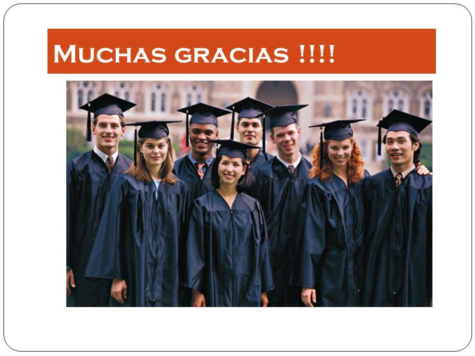 Muchas gracias !!!!