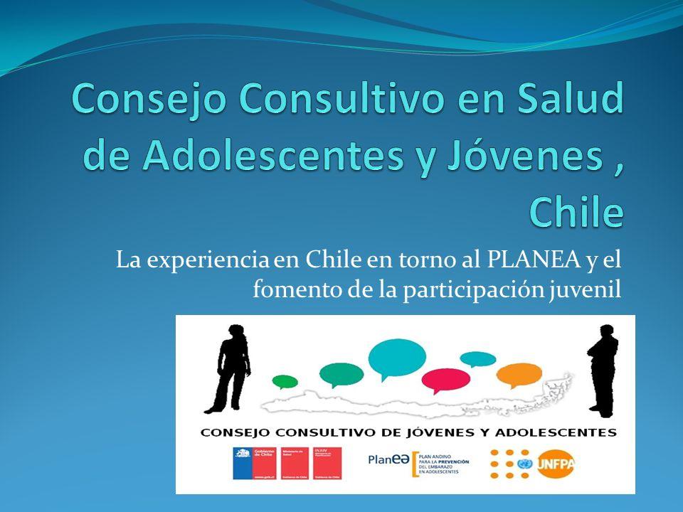 La experiencia en Chile en torno al PLANEA y el fomento de la participación juvenil