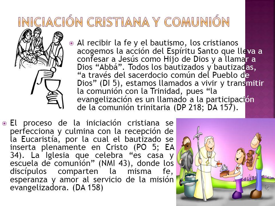 Al recibir la fe y el bautismo, los cristianos acogemos la acción del Espíritu Santo que lleva a confesar a Jesús como Hijo de Dios y a llamar a Dios