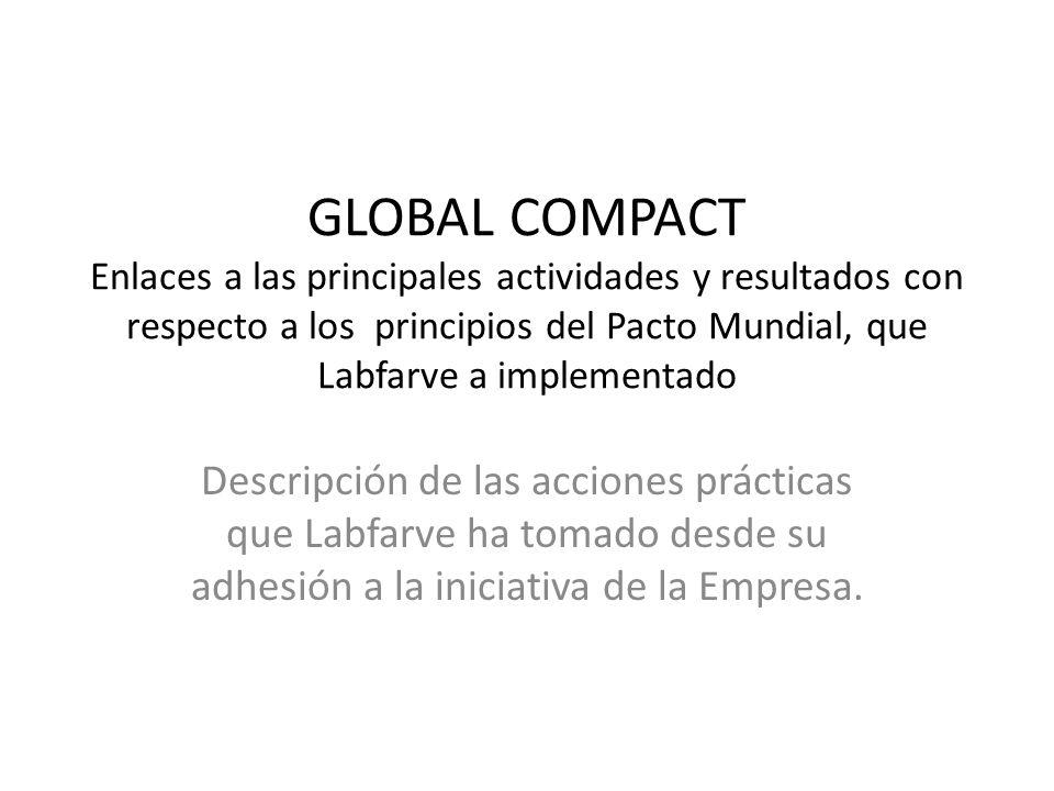 LABFARVE genera desarrollo local.LABFARVE provee adecuadas condiciones de trabajo.