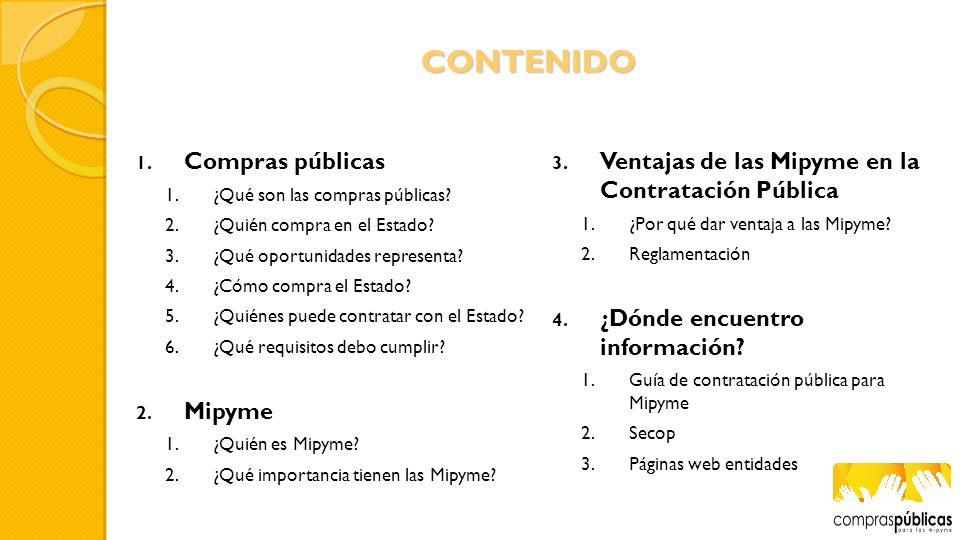 Requisitos asociados a la contratación pública RUPFormalización Registro Mercantíl Inscripción Renovación ¿Qué requisitos debo cumplir.