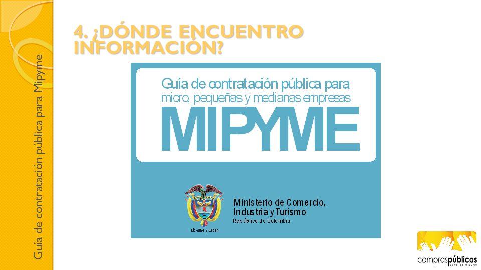 Guía de contratación pública para Mipyme