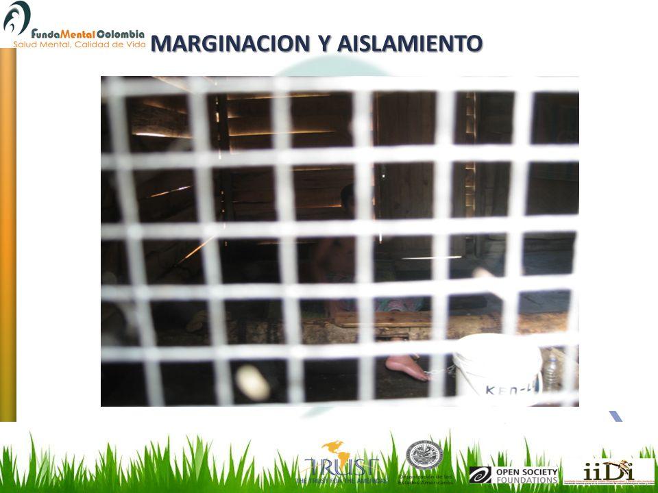 MARGINACION Y AISLAMIENTO