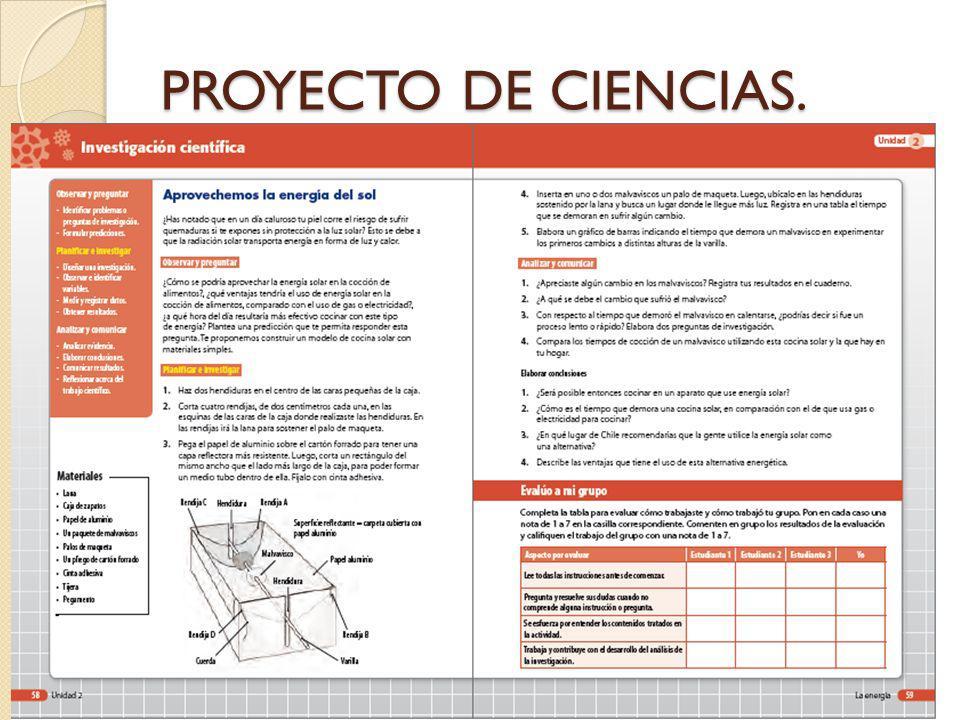 PROYECTO DE CIENCIAS.
