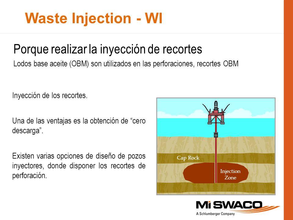 Porque realizar la inyección de recortes Lodos base aceite (OBM) son utilizados en las perforaciones, recortes OBM Inyección de los recortes. Una de l