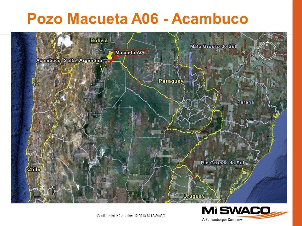 Pozo Macueta A06 - Acambuco Confidential Information © 2010 M-I SWACO