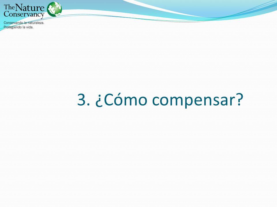 3. ¿Cómo compensar?