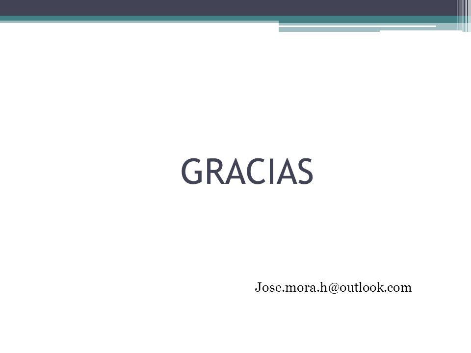 GRACIAS Jose.mora.h@outlook.com