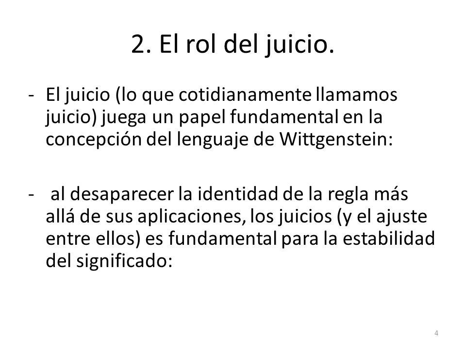 6.La interpretación como un tipo de juicio.