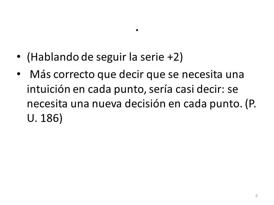 II VER CÓMO Y EL CAMBIO DE ASPECTO. 17