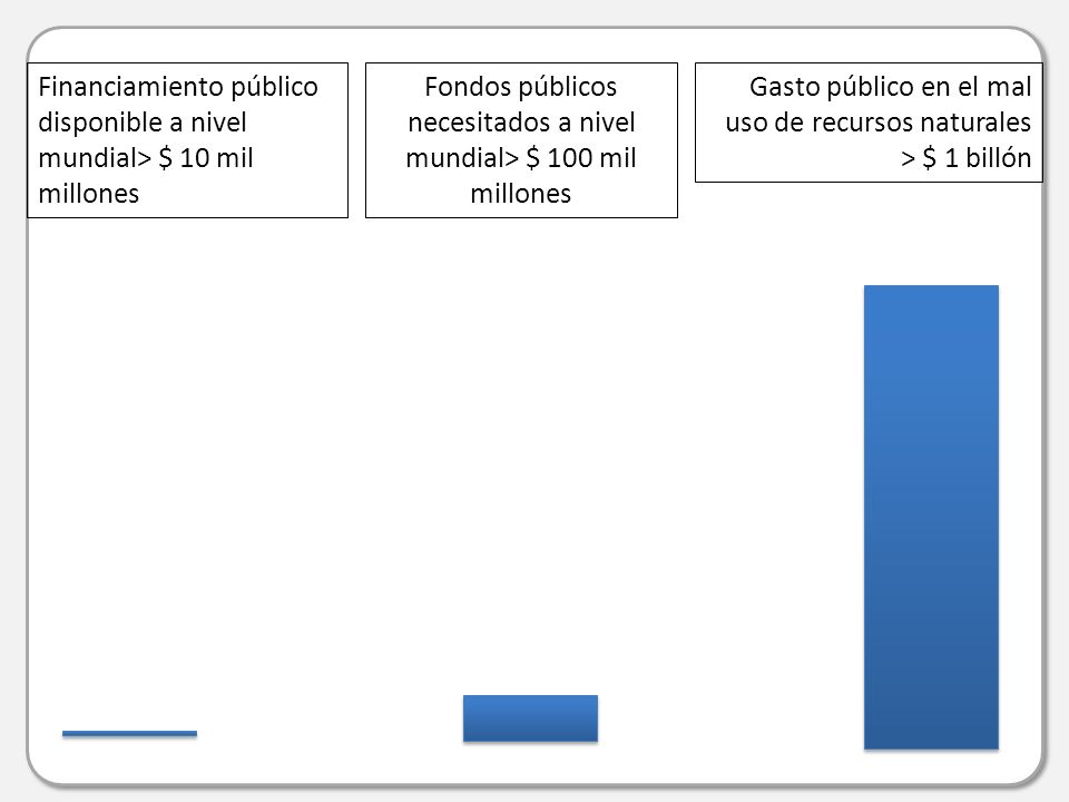 Aspectos claves en el informe final del ERG5 Relevancia y valor agregado del FMAM en comparación con otras fuentes de financiamiento.