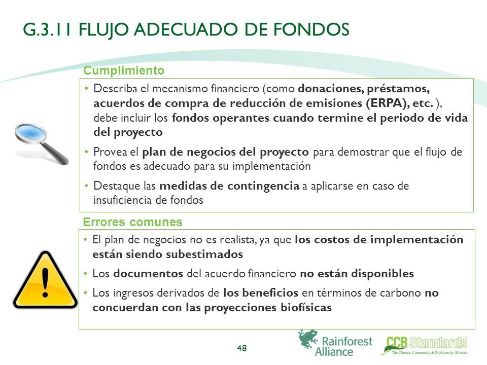 Describa el mecanismo financiero (como donaciones, préstamos, acuerdos de compra de reducción de emisiones (ERPA), etc.