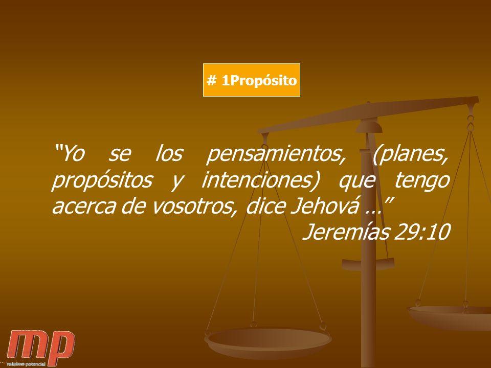 # 1Propósito # 2 Seas Único #3 Control # 4 Optimismo Los que aman a Dios, todas las cosas les ayudan a bien, esto es, a los que conforme a su propósito son llamados.