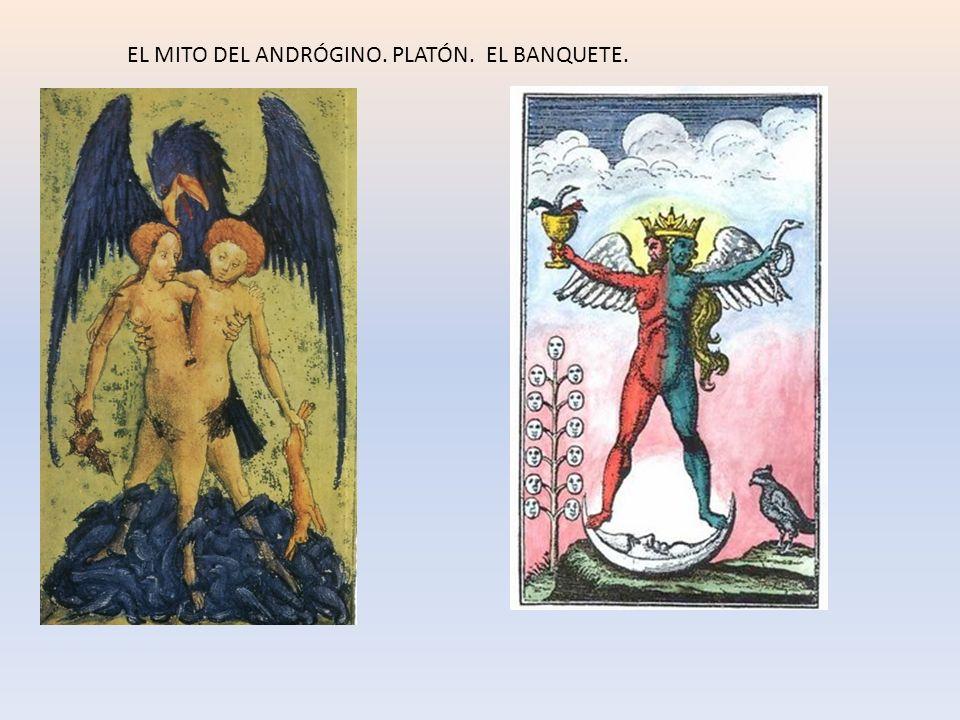 EL MITO DEL ANDRÓGINO. PLATÓN. EL BANQUETE.