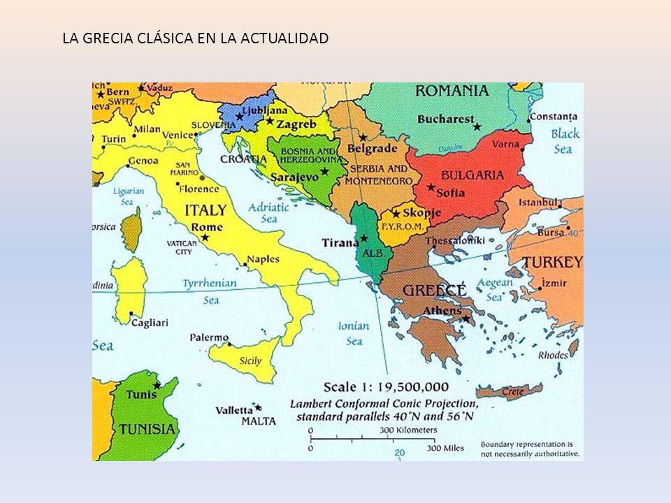 LA GRECIA CLÁSICA EN LA ACTUALIDAD