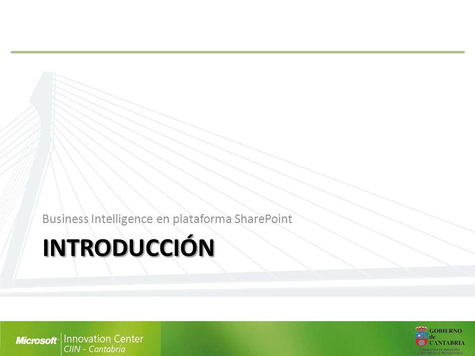 INTRODUCCIÓN Business Intelligence en plataforma SharePoint