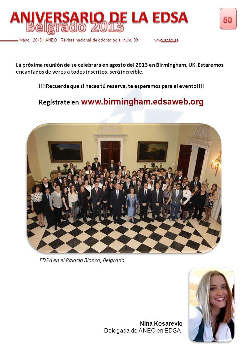 La próxima reunión de se celebrará en agosto del 2013 en Birmingham, UK. Estaremos encantados de veros a todos inscritos, será increíble. !!!!Recuerda
