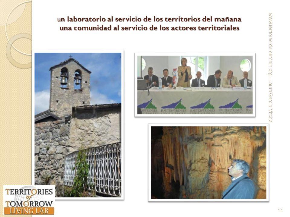 un laboratorio al servicio de los territorios del mañana una comunidad al servicio de los actores territoriales www.terrtores-de-demain.org - Laura Ga