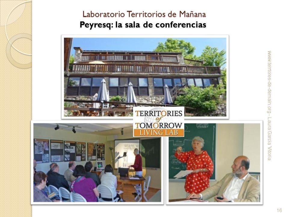 Laboratorio Territorios de Mañana Peyresq: la sala de conferencias Laboratorio Territorios de Mañana Peyresq: la sala de conferencias www.terrtores-de