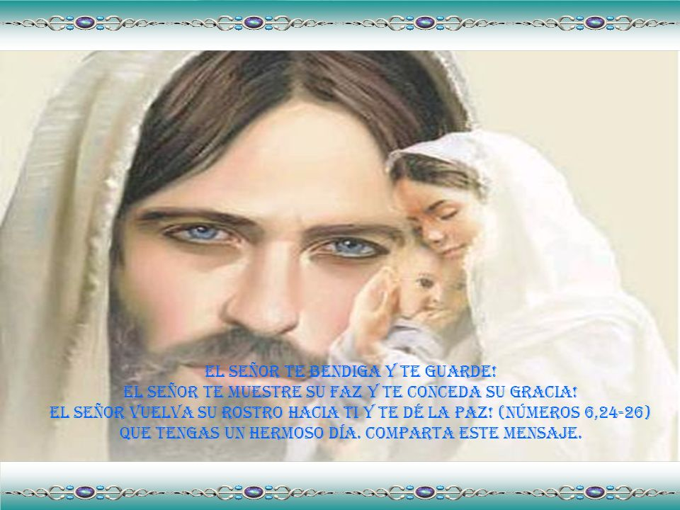 Dejad Al Niño Dios nacer en Tu corazón este día.