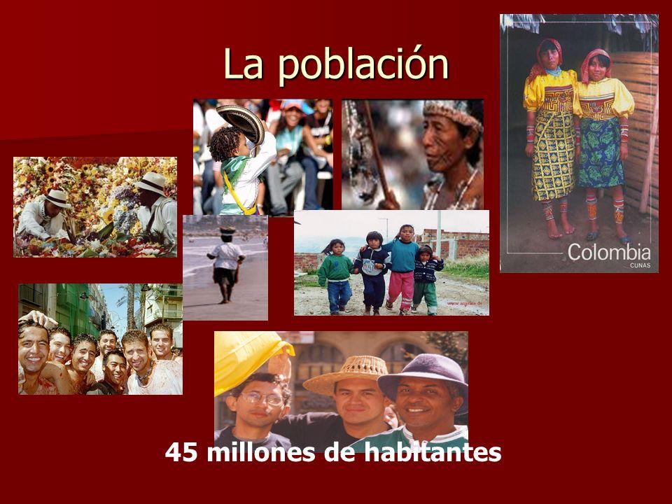La población 45 millones de habitantes