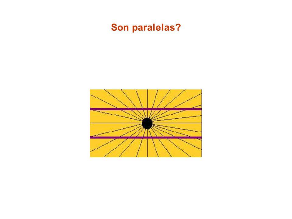Son paralelas?