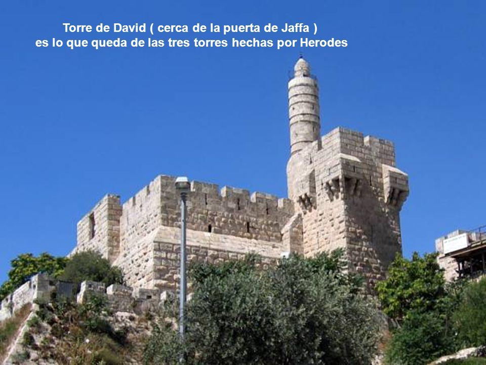 Puerta de Jaffa en la muralla de Jerusalén