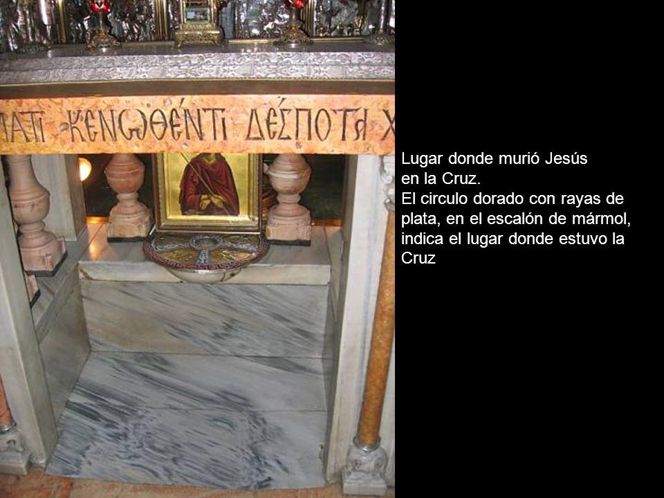 Vía Dolorosa Estación XI Lugar donde Jesús fue clavado en la Cruz