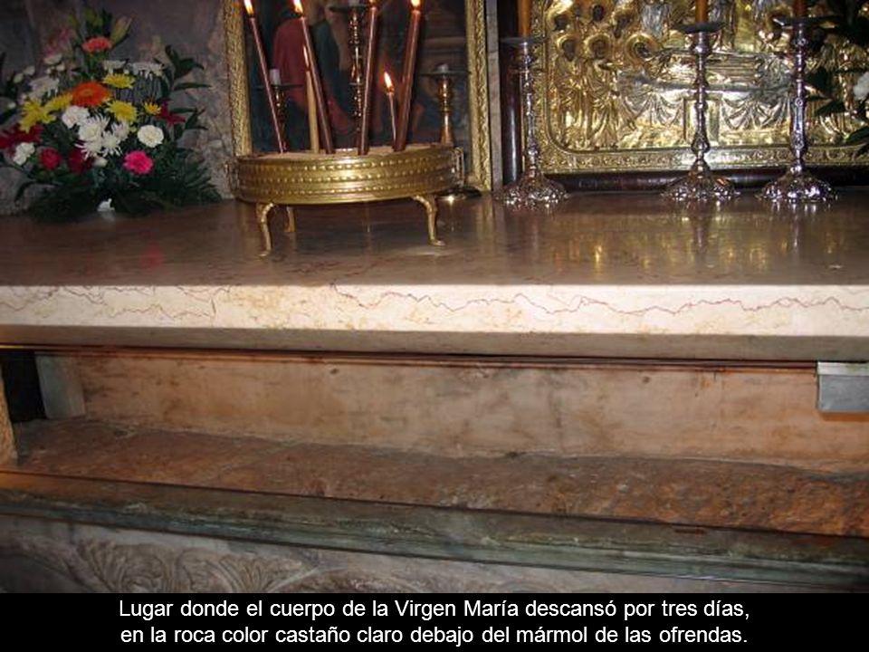 Entrada a la tumba de la Virgen María Jerusalén