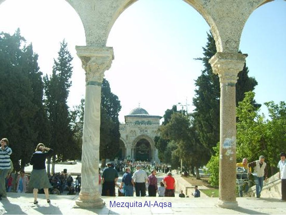 Curiosidad en Jerusalén : un molino en la ciudad
