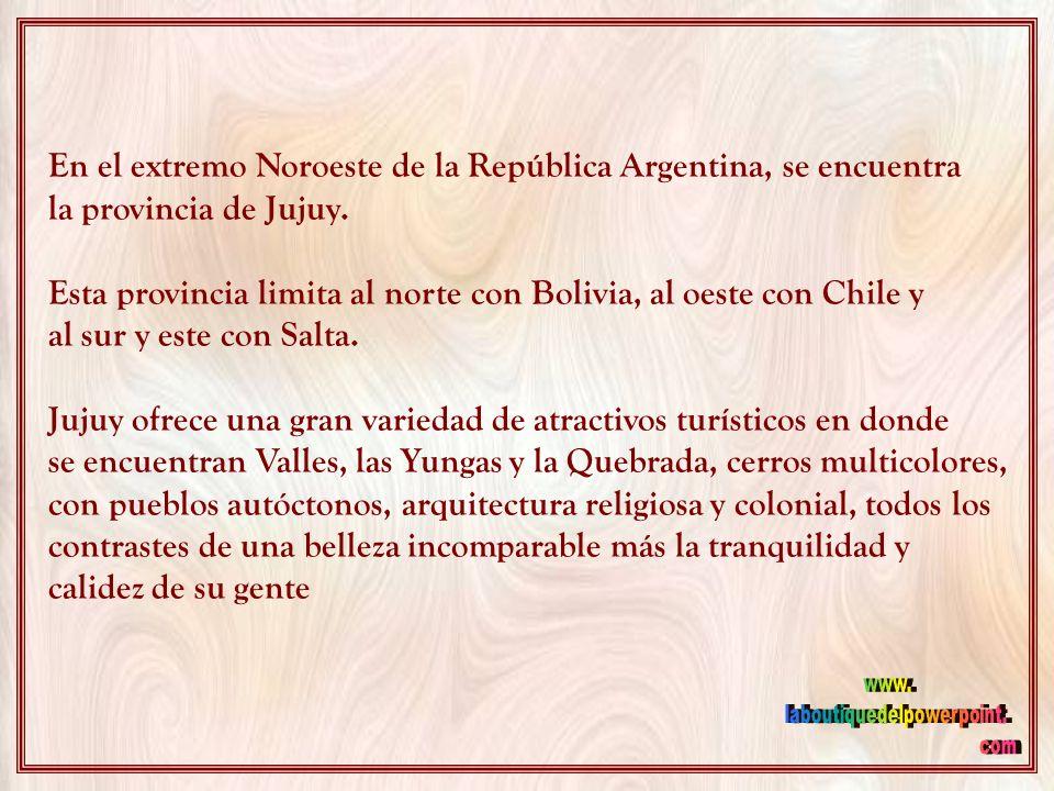 JUJUY ARGENTINA Música: CAMINITO DEL INDIO Canta: ATAHUALPA YUPANQUI