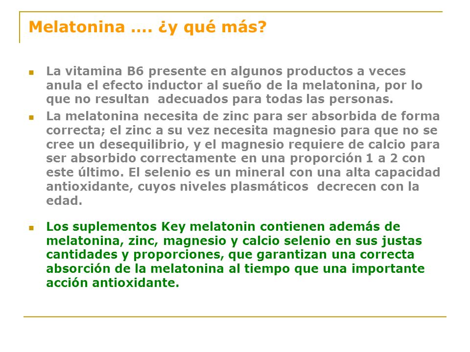 Melatonina… ¿pura?. La calidad de la melatonina se evalúa mediante HPLC (Cromatografía Líquida de Alta Presión), que indica el porcentaje de pureza de