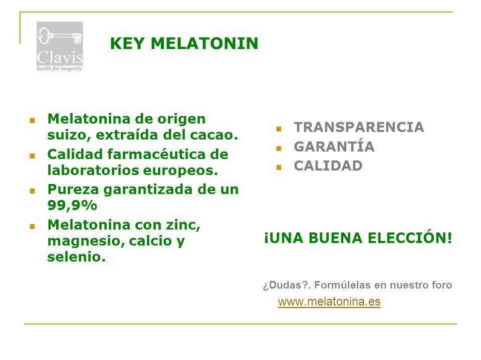 Melatonina …. ¿y qué más? La vitamina B6 presente en algunos productos a veces anula el efecto inductor al sueño de la melatonina, por lo que no resul