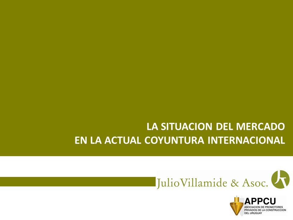 LA SITUACION DEL MERCADO EN LA ACTUAL COYUNTURA INTERNACIONAL