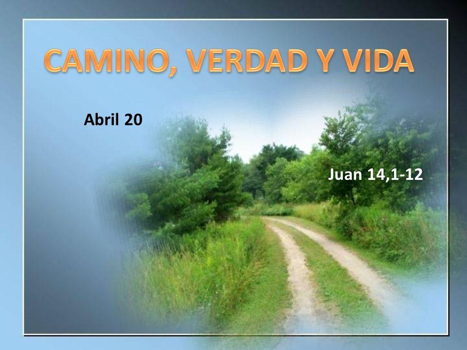 Abril 20 Juan 14,1-12