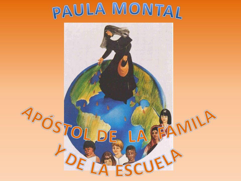 Paula Montal, dos siglos y medio más tarde, siguiendo el mismo impulso del Espíritu que le confía dentro de la Iglesia la misión de salvar las familias enseñando a las niñas el Santo Temor de Dios, fundó el Instituto de Hijas de María, Religiosas de las Escuelas Pías, que fue aprobado por el Papa Pío IX.